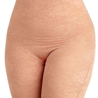 ModCloth Smooth Your Soul Contouring Shorts in Mauve - Plus