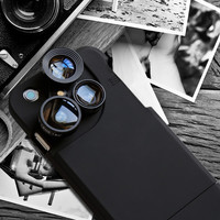 4 in 1 Selfie Photograph Cover for iPhone 6s 6 Plus & iPhone 5s se 6 6s Case & Lens Adapter Kit Gift