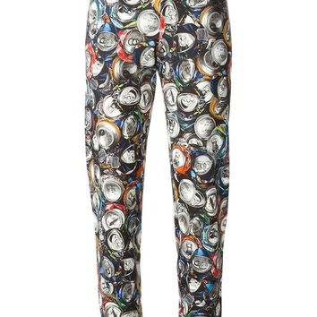 DCCKIN3 Moschino soda can print track pant