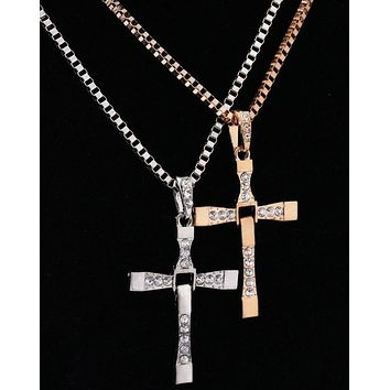 Stylish Cross Necklace