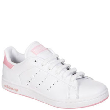 ADIDAS WOMEN'S STAN SMITH TRAINERS - WHITE/PINK