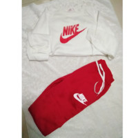 "Women Fashion ""NIKE"" Print Hoodie Top Sweater Pants Sweatpants Set Two-Piece Sportswear (4-color)"