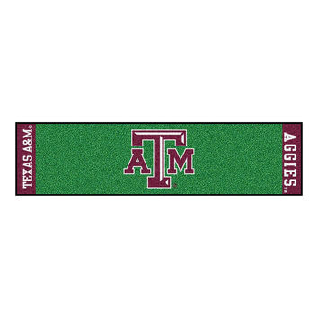 Texas A&M Aggies NCAA Putting Green Runner (18x72)