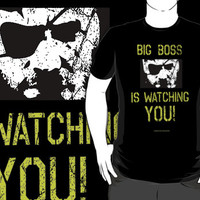 Big Boss is watching you! Metal Gear Solid V The Phantom Pain by mayestation