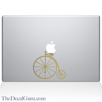 Vintage Bicycle Macbook Decal | The Decal Guru