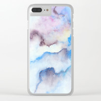 A 0 17 Clear iPhone Case by Marco Gonzalez