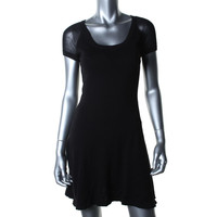 Organic Cotton by Autumn Cashmere Womens Cotton Above Knee Casual Dress