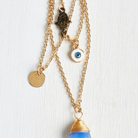 Boho Glad To Tier It Necklace by ModCloth