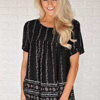 Yours to Hold Top ~ Black