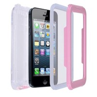 NEW Waterproof Case for iPhone 4 / 4S or 5 / 5S Hard Case Water Dirt Phone Protector Cover - Pink