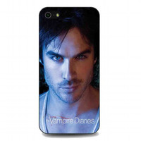 Hot Damon Salvatore, The Vampire Diaries For iphone 5 and 5s case