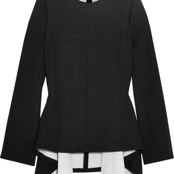 Stella McCartney - Stretch-wool peplum top
