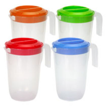 Bulk Plastic Pitchers with Lids, 2 Qt. at DollarTree.com