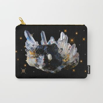 Star Aura Quartz Carry-All Pouch by Azima