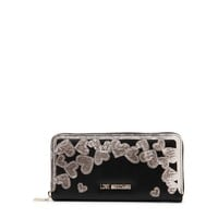 Love Moschino Black Leather Wallet