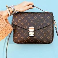 LV Fashion Casual Women Shopping Leather Crossbody Satchel Shoulder Bag G