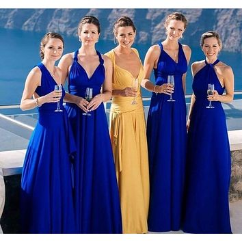 Convertible Bridesmaid Dress