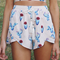 Bossy The Label - Runaway Shorts - Cactus