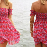 Beach Front Hippie Dress