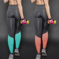 Sporty Compression Workout Leggings