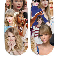 Taylor Swift Paparazzi Ankle Socks