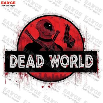 "Deadpool ""Dead World"" Fashion Shirt"