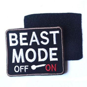 Spot Bag With Supplies Beast Mode Beast Mode Tactical Outdoor Stick Armband Morale Badges