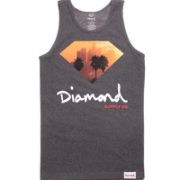 Diamond Supply Co City View Tank Top - Mens Tee - Black -