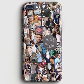 Niall Horan Collage Cartoon iPhone 8 Plus Case