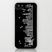 San Francisco, California City Skyline iPhone & iPod Case by Architette Studios