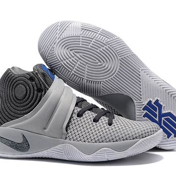 HCXX Men's Nike Zoom Kyrie 2 MD Basketball Shoes Grey 40-46