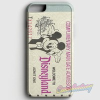Disney Moouse Tickets iPhone 8 Case