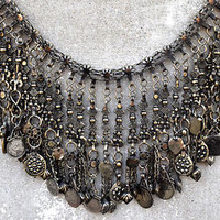 Big Afghan Kuchi Necklace Chain Ethnic Dance Gypsy Boho Tribal Jewelry Festival