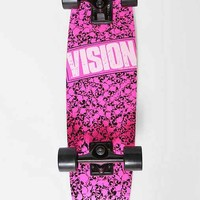 Vision Punk Skull Skateboard- Blush One