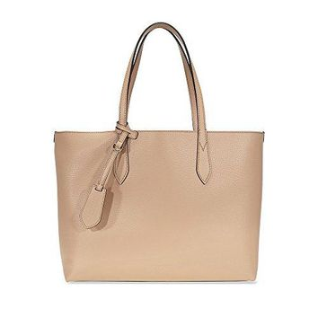 Burberry Women's Medium Reversible Handbag in Haymarket Check and Leather 1 Camel