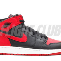 "air jordan 1 retro high og bg (gs) ""bred"" - black/varsity red-white - Air Jordan 1 - Air Jordans 