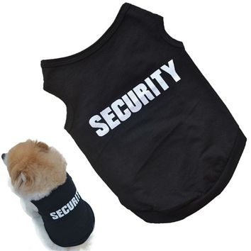 LL Cotton Dog Security Shirt