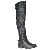 Riverberry Women's 'Montage' Over-the-knee Boots | Overstock.com