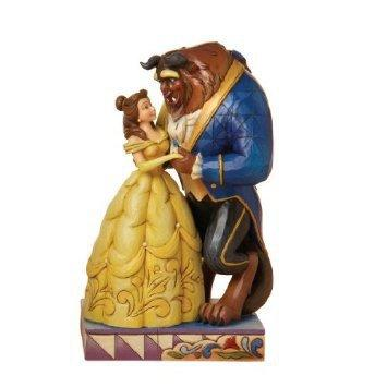 Disney Traditions designed by Jim Shore for Enesco From Beauty and theBeast Figurine 6.25 IN