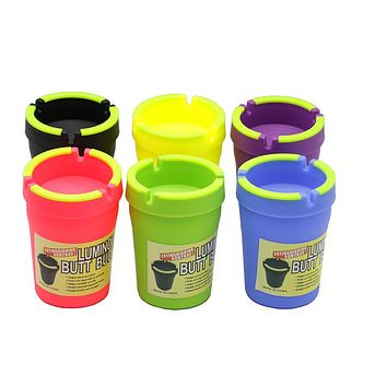 Luminous Cupholder Ashtray