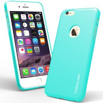 iPhone 6 Plus Case, Caseology® [Daybreak Series] Slim Fit Shock Absorbent Cover [Turquoise Mint] [Slip Resistant] for Apple iPhone 6 Plus (2014) & iPhone 6S Plus (2015) - Turquoise Mint