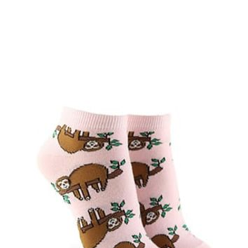 Mermaid Pug Graphic Crew Socks