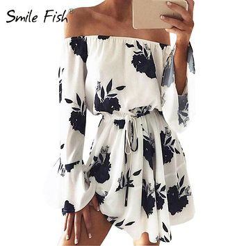 2018 New Summer Playsuit Women Kimono Chiffon Boho Floral Playsuit Print Ruffles All-match Lady Sexy Beach Girls Playsuit GV653