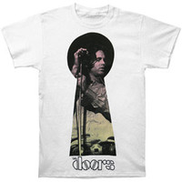 Doors Men's  Keyhole Jim T-shirt White
