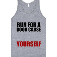 Run For a Good Cause Yourself Workout Tank Top