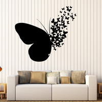 Vinyl Wall Decal Butterfly Home Room Decoration Mural Stickers Unique Gift (395ig)