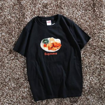 Cheap Women's and men's supreme t shirt for sale 85902898_0120