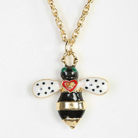 Urban Outfitters - Bee Charm Necklace