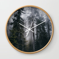 Into the forest we go Wall Clock by happymelvin