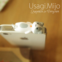 SALE30-70%OFF: Cute gray cat laying Plug iPhone . Dust Plug . Phone Plug . Phone Charm cats, Kawaii, Lovely, Girly, Cat